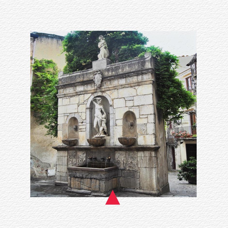 Fontana della Venere Ciprea detta Quattru cannola