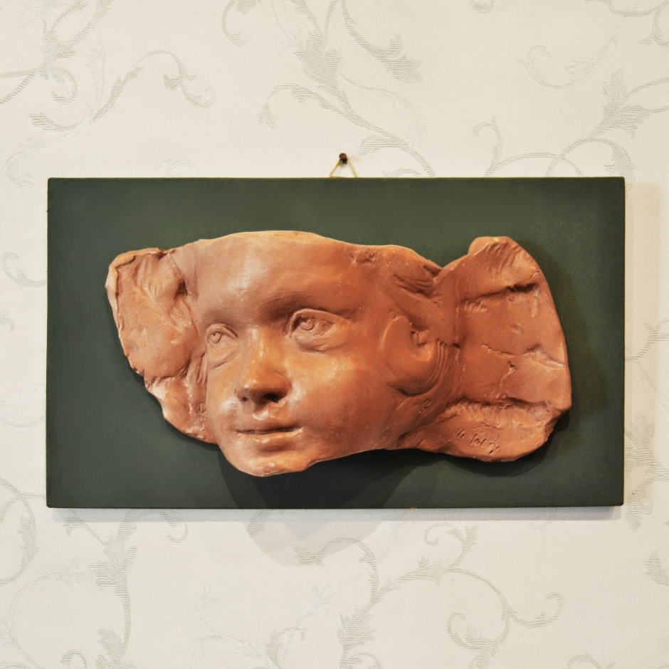 Putto fragment