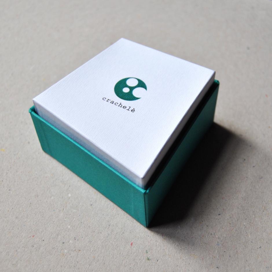 Orecchini Crachelè Verde