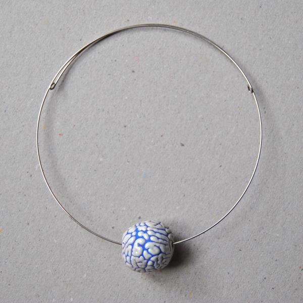Collana Crachelè Blu
