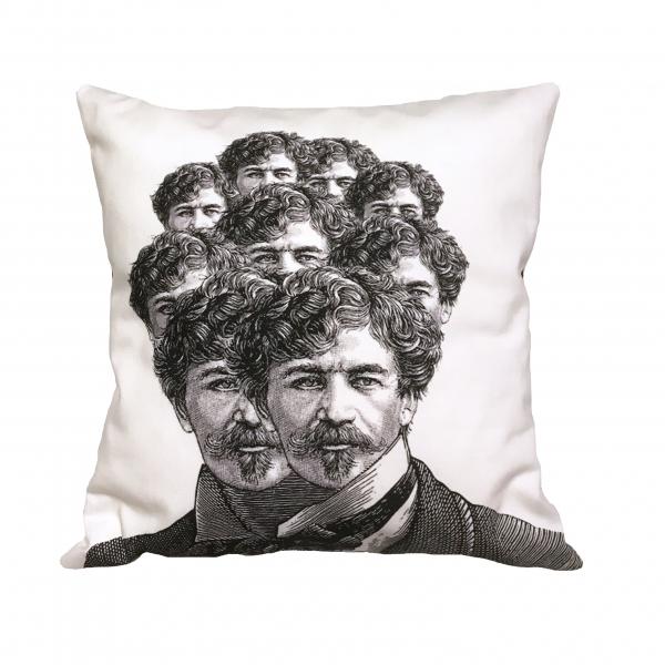 Cuscino Uomo con i baffi